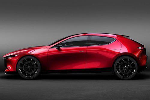 新款Mazda3轿车在日内瓦显得端庄