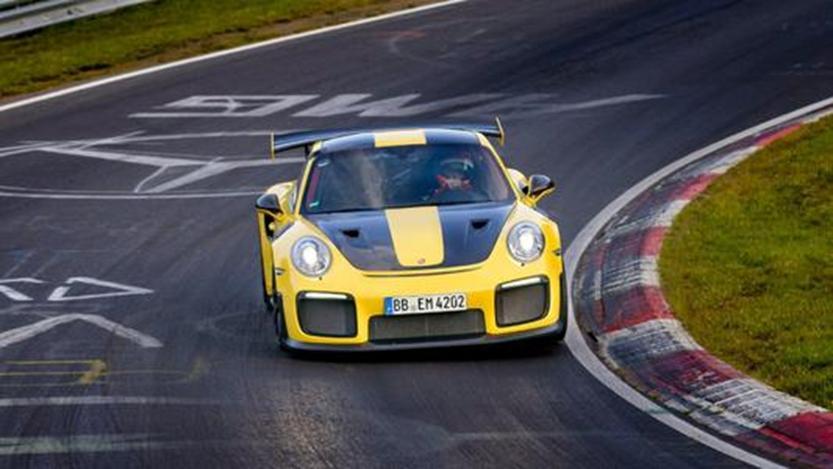 保时捷911 GT2 RS看起来像无瑕的宝石