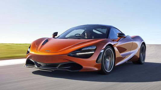 McLaren 720S Spider获得外观设计专利