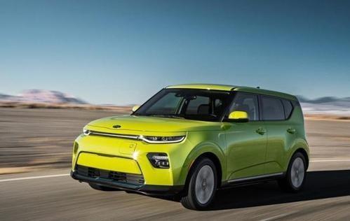 2020年起亚Soul EV公开内饰可能续航500公里