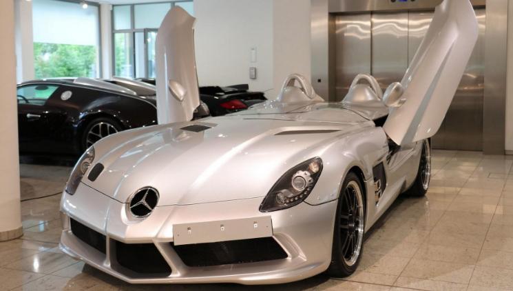 Phouphoullides基于当前的AMG GT创建了这些SLR McLaren