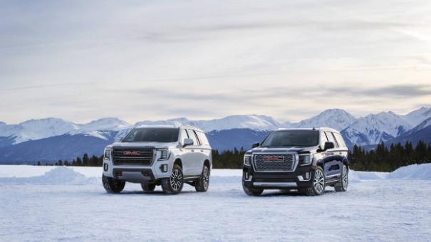 2021 GMC Yukon和Yukon XL系列包括Denali和AT4装饰