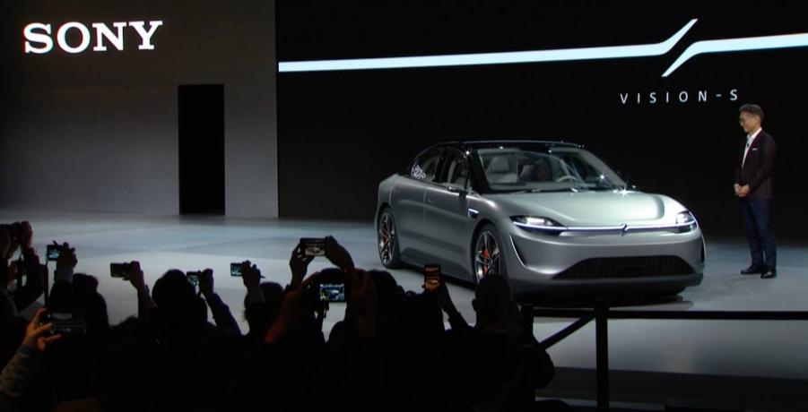 索尼Vision-S是汽车技术的惊喜汽车展示