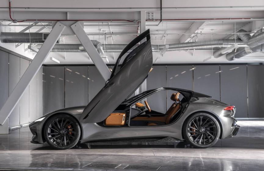 Karma SC2电动双门轿跑车可以提供1100马力的强劲输出