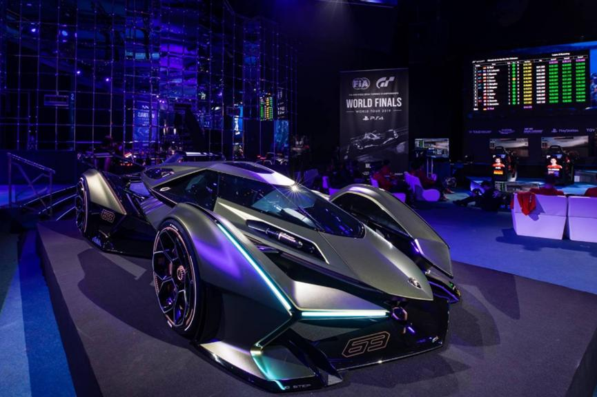 兰博基尼Lambo V12 Vision是其汽车制造商最有特色的车辆之一