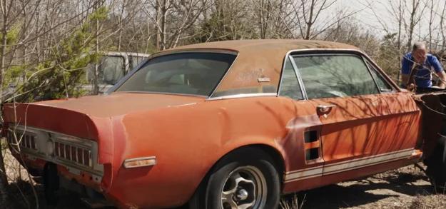 在野外发现极为罕见的1967年福特谢尔比EXP原型