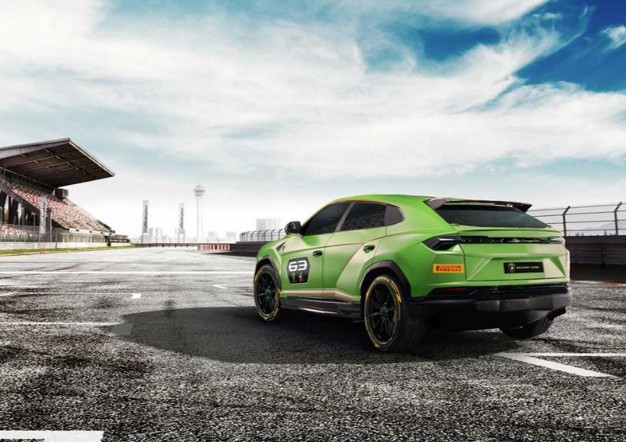 兰博基尼Urus ST-X Concept将主导SUV的道路