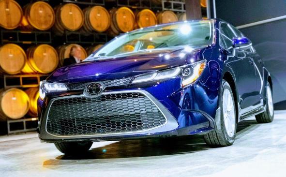 2020年丰田卡罗拉轿车官方:更清晰更安全