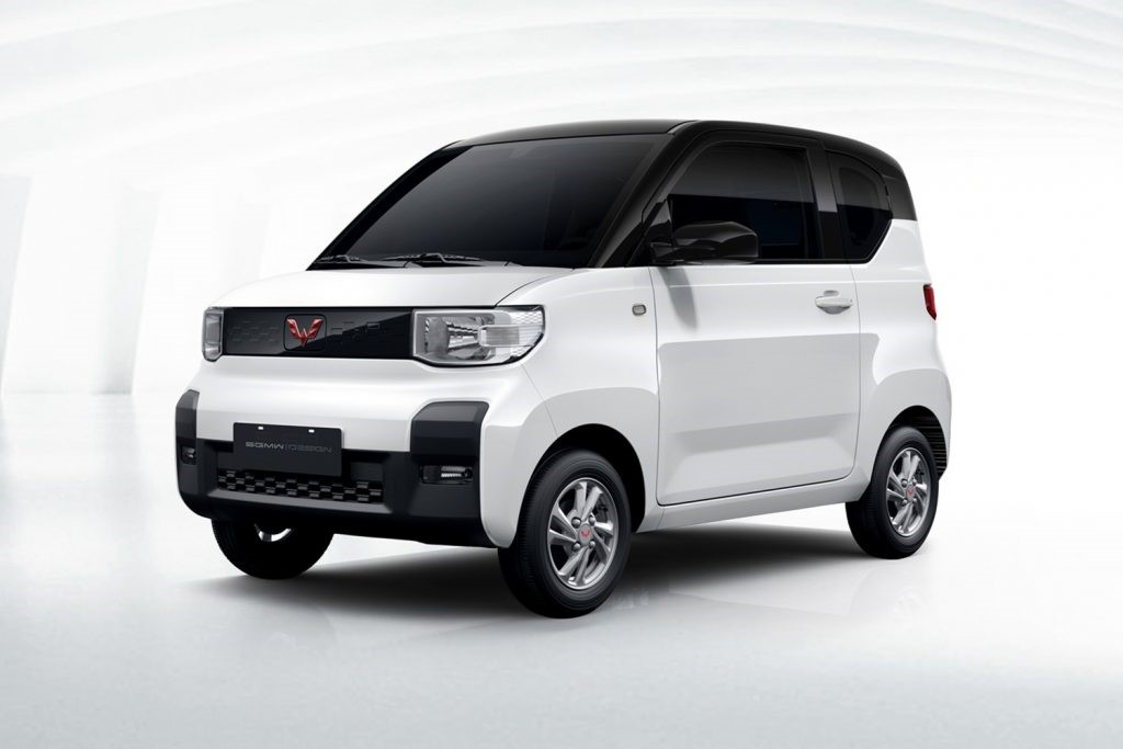 通用汽车在中国推出新的五菱电动汽车