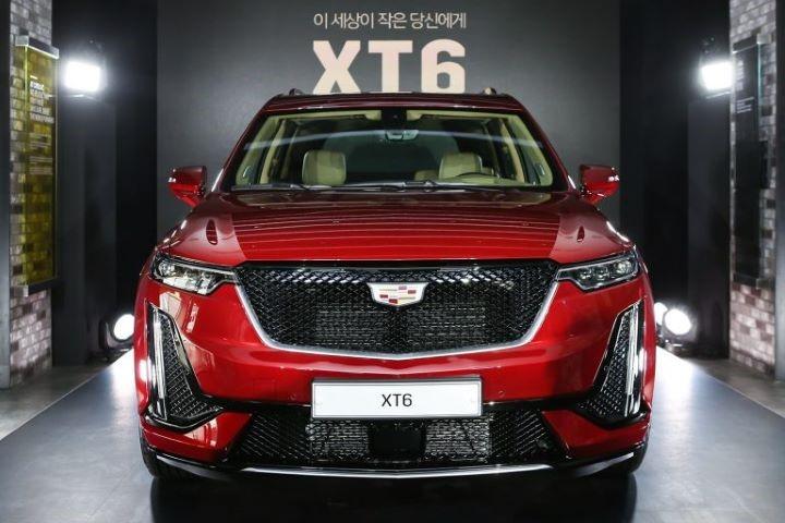 凯迪拉克XT6在韩国上市