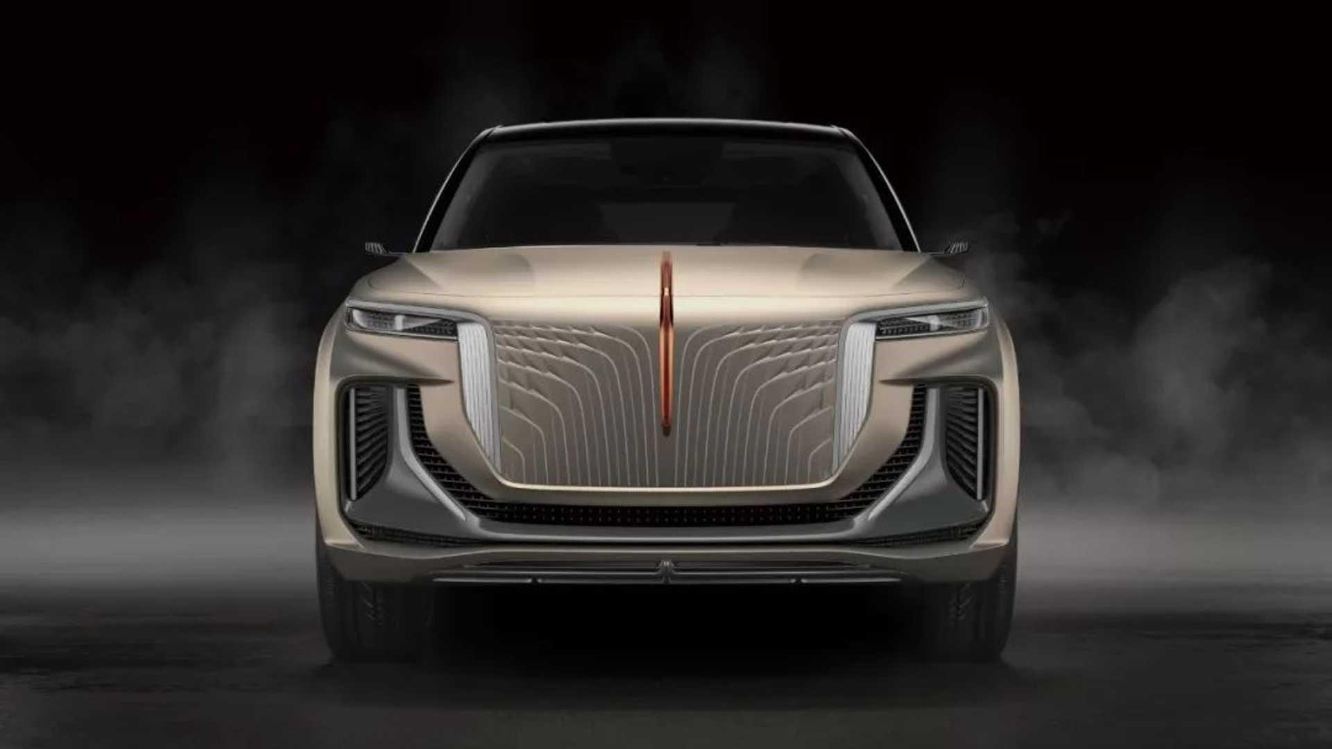 红旗E115是中国的Baller Electric SUV