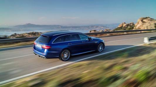 2021年梅赛德斯AMG E63 S轿车和旅行车变得更加锋利