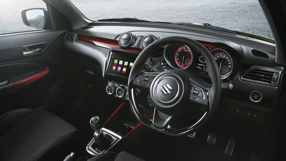 新的Suzuki Swift Sport 2020价格和规格详解