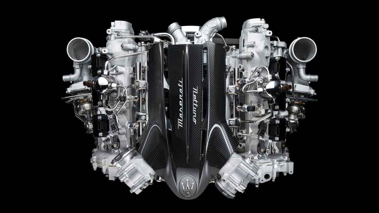 新款玛莎拉蒂MC20超级跑车:发动机规格透露