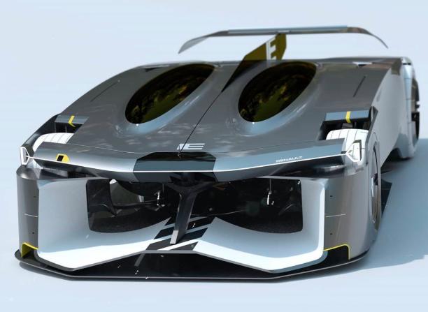 雷诺IE自主概念赛车