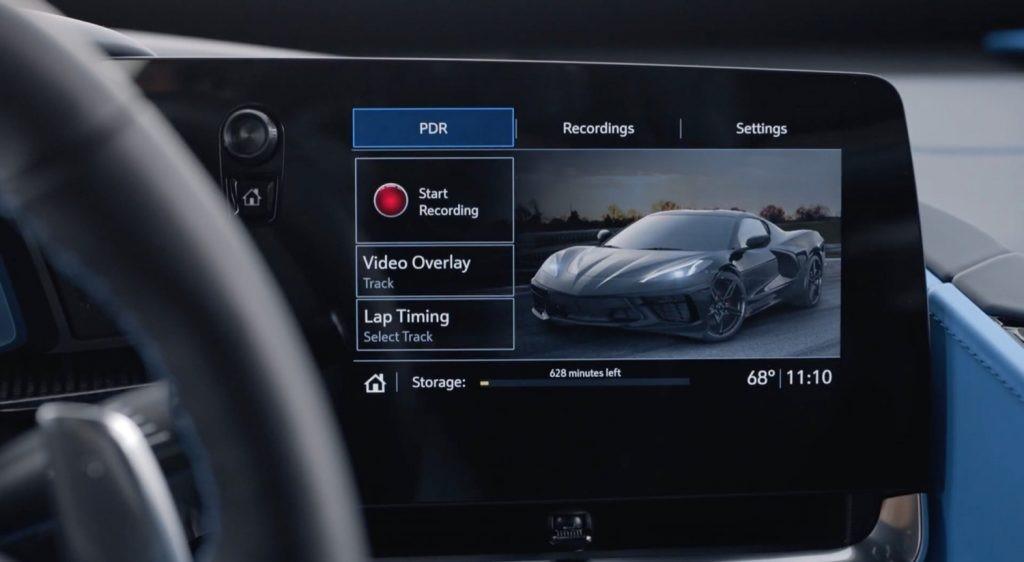 如何使用2020 Corvette性能数据记录仪