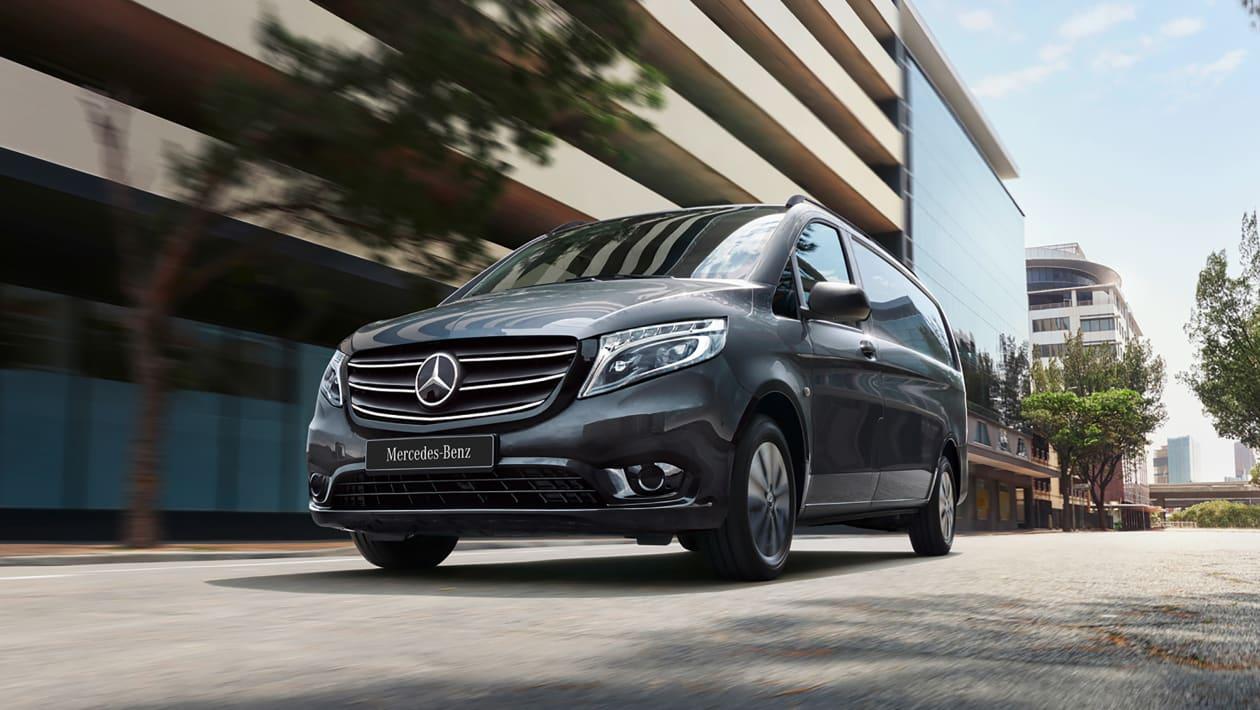 改款2020年Mercedes Vito平板面包车现已发售