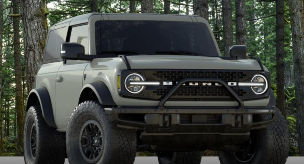 2021年福特Bronco第一版产量增加至7,000辆