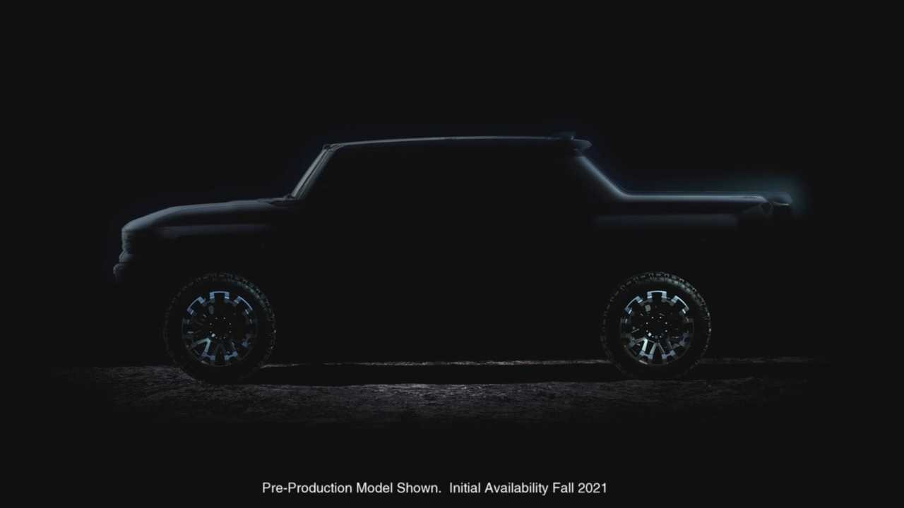GMC悍马电动皮卡车将于今年秋天推出