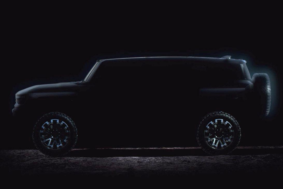 GMC悍马电动卡车和SUV被嘲笑首次亮相日期推迟