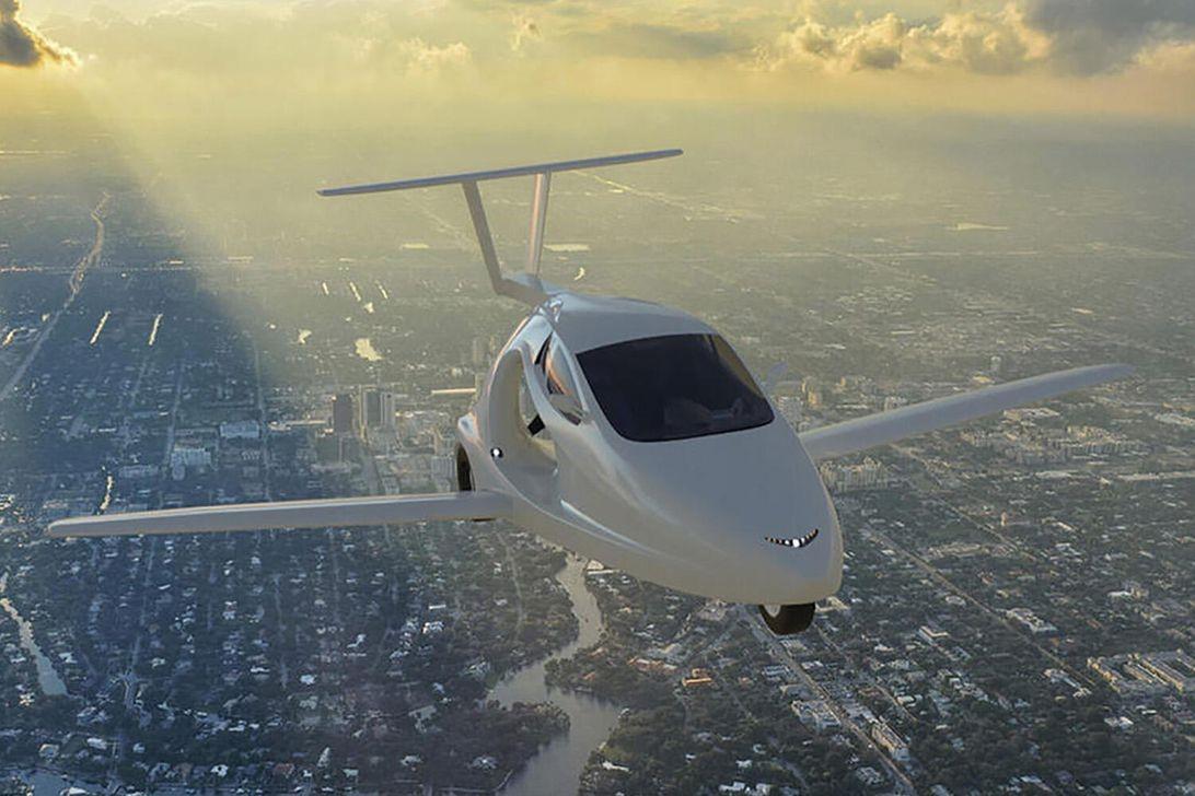 新罕布什尔州是第一个允许在道路上飞行汽车的州