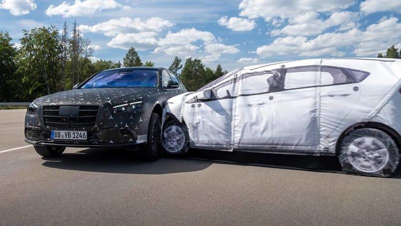 新款梅赛德斯-奔驰S-Class 2021可能是有史以来最安全的量产车吗?