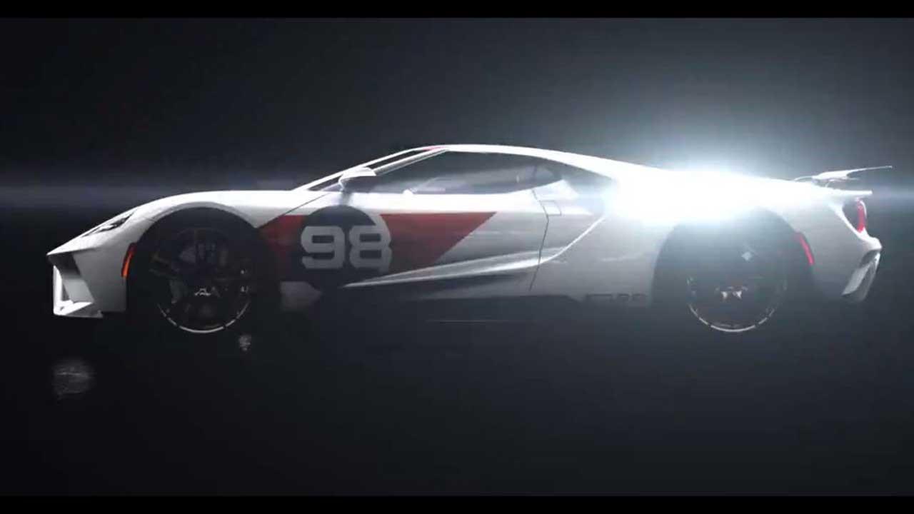 福特Performance挑逗2021年福特GT Heritage Edition