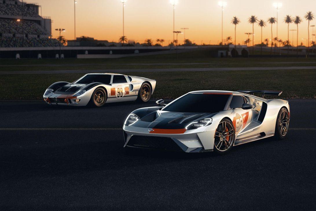 2021年福特GT Heritage Edition汲取了GT40的首项Daytona胜利