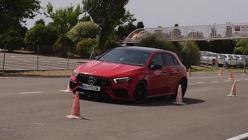 Mercedes-AMG A45 S未通过驼鹿测试