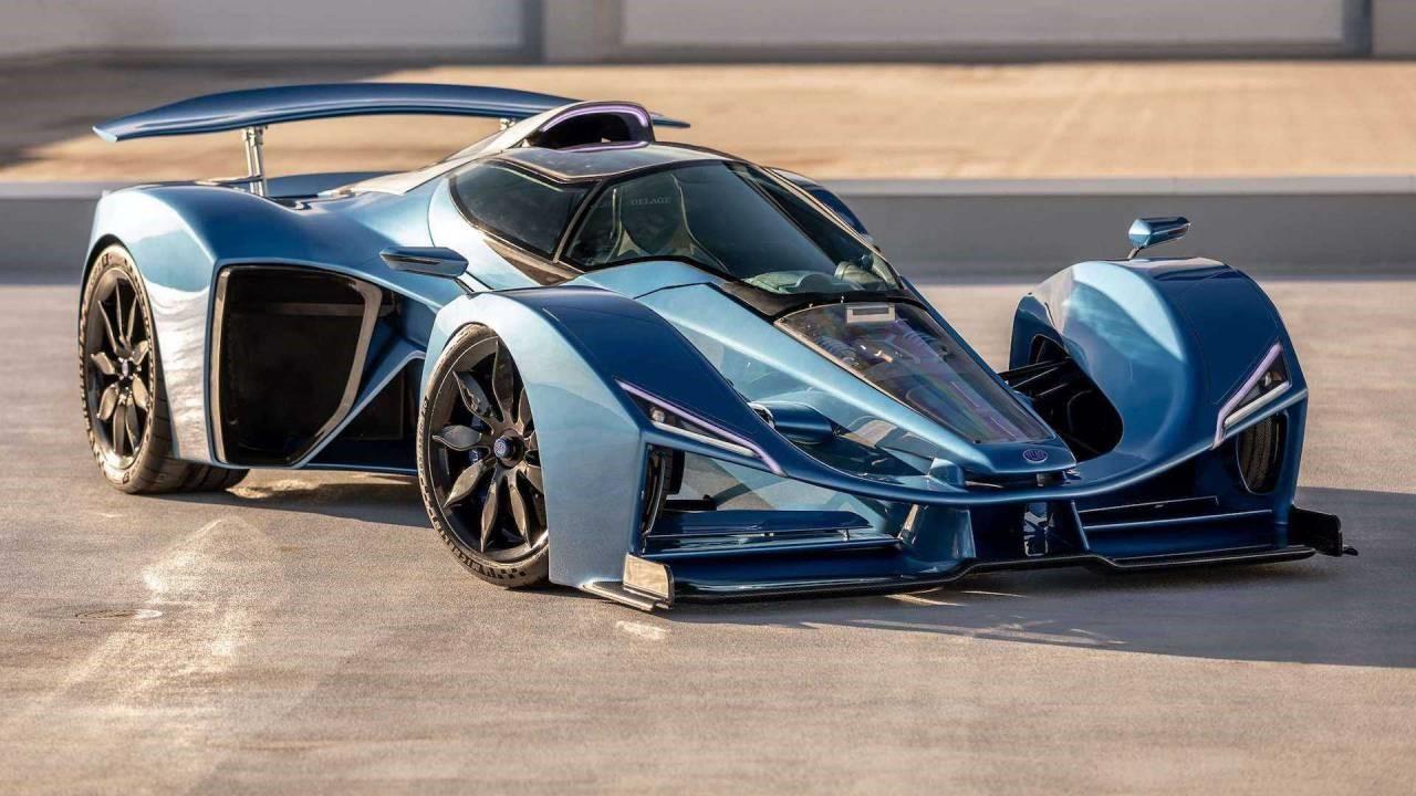 德拉吉 D12混合动力超级跑车正在进入生产阶段