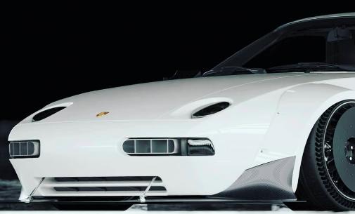 """保时捷928"""" Mighty Mouse""""宽体车渲染图"""