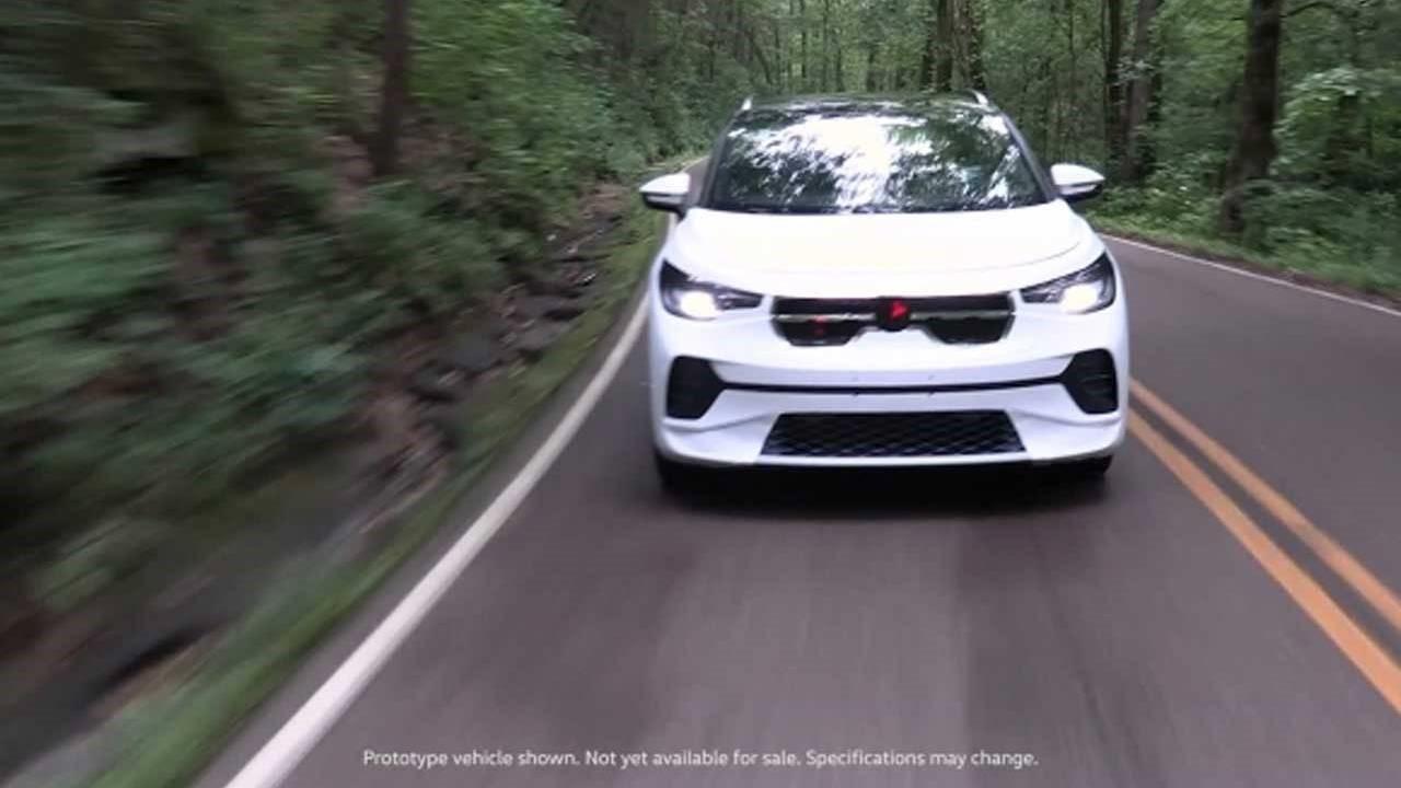 大众ID.4电动汽车原型测试视频提供了内部详细信息