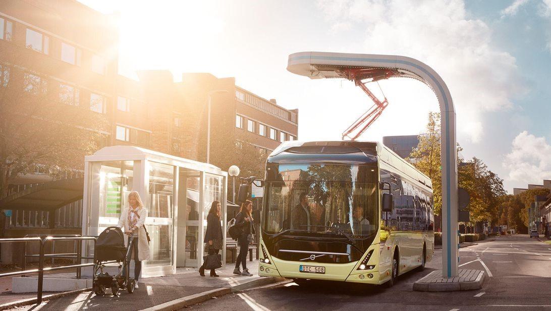 沃尔沃客车与Batteryloop合作,为旧电池带来新生命