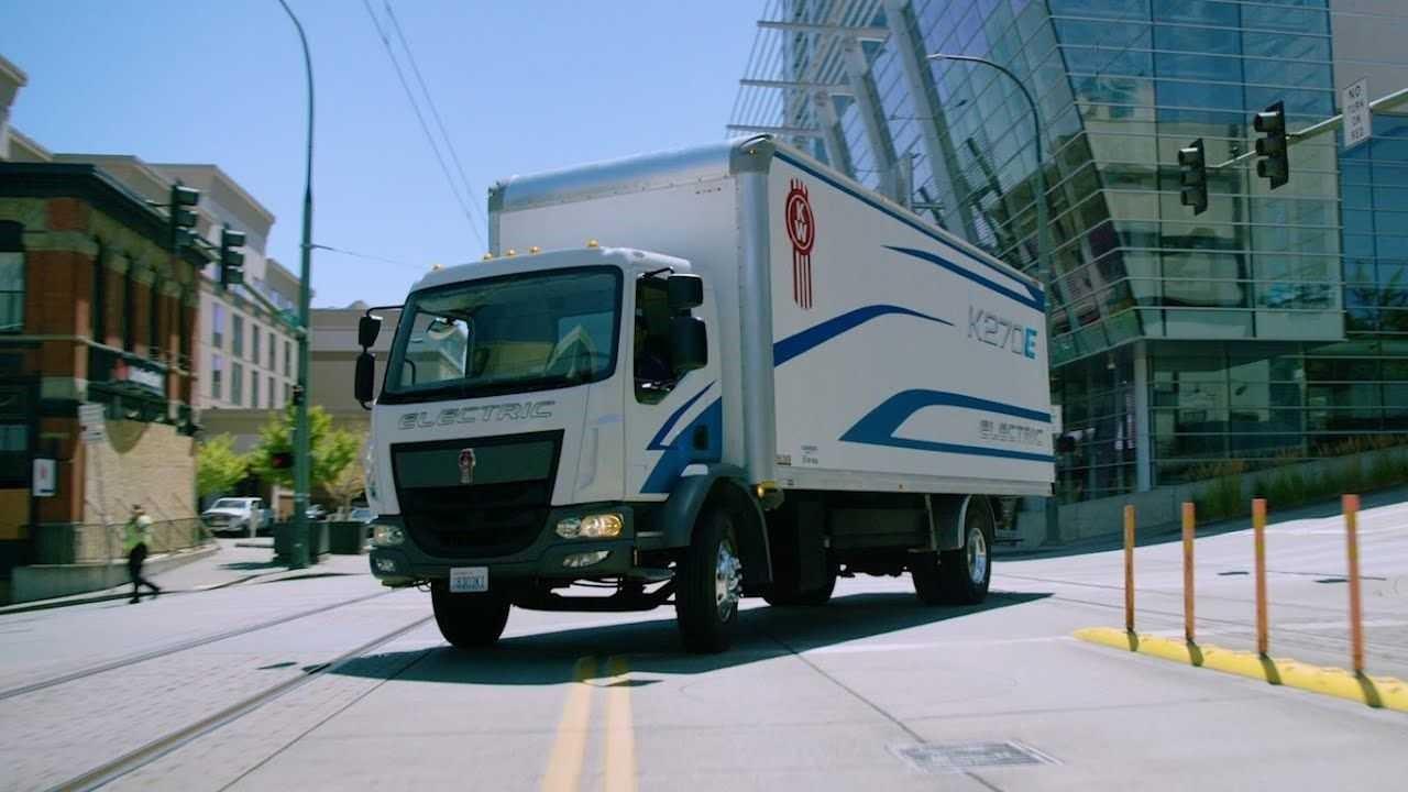 Kenworth推出K270E和K370E电动卡车