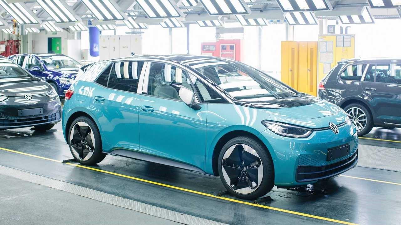 大众ID.3电动掀背车在英国的起价低于3万英镑