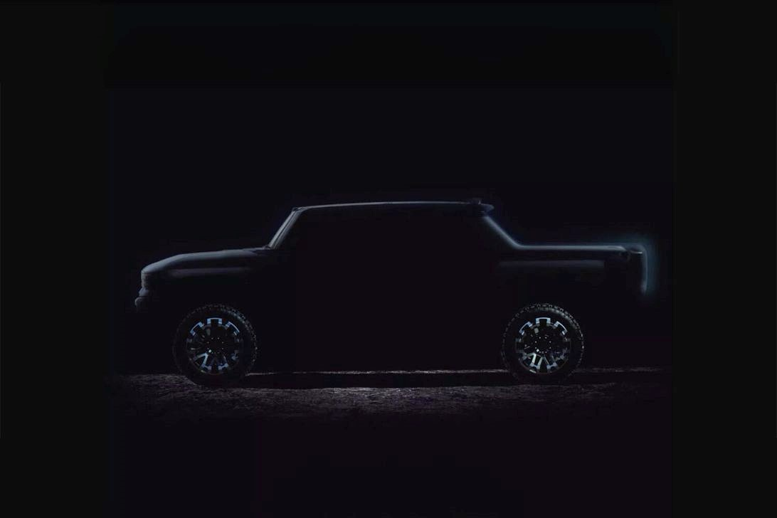 GMC悍马电动车揭晓:电动皮卡车在这里现场亮相