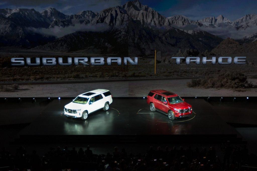 新雪佛兰Tahoe,郊区,GMC育空地区可能在更多装饰上提供6.2升V8