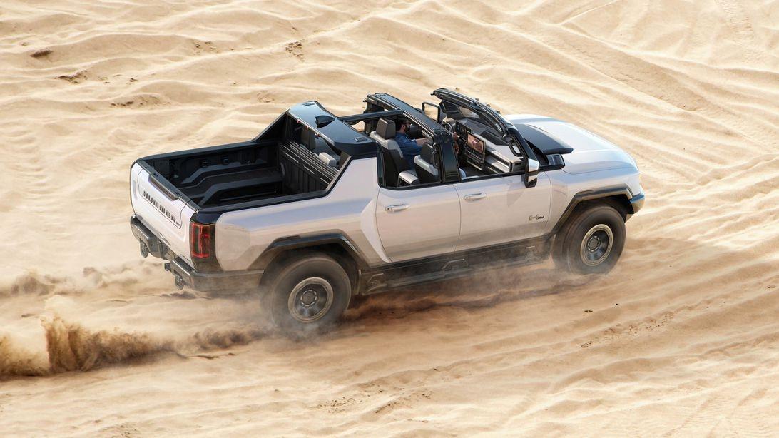GMC悍马EV的11500磅,英尺扭矩数字是误导
