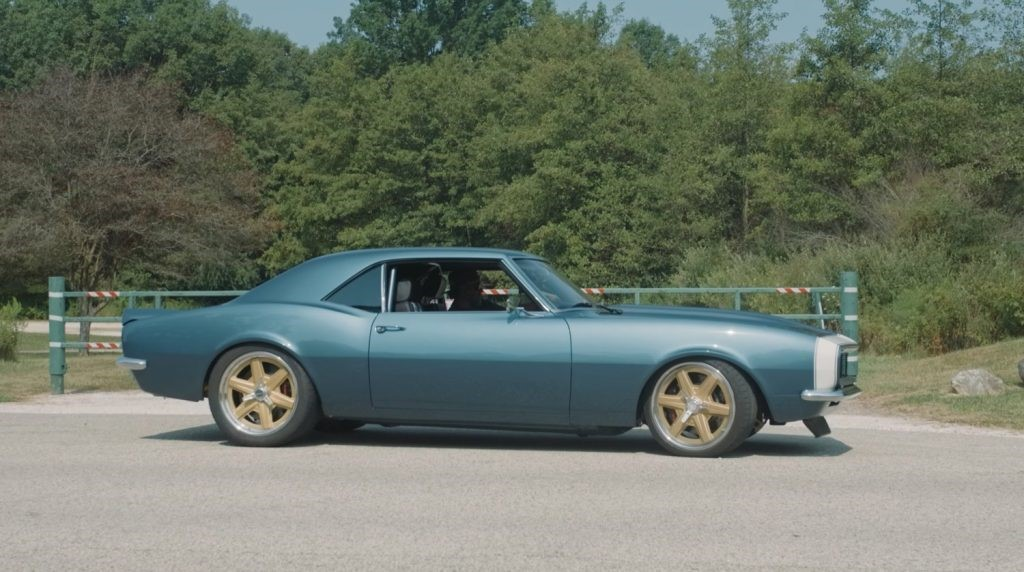 敞篷跑车商店发布没有预算的1968雪佛兰 Camaro版本