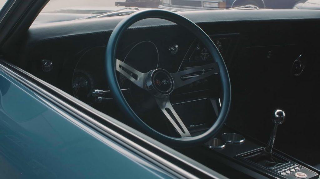 敞篷跑车商店发布没有支出的1968雪佛兰 Camaro版本