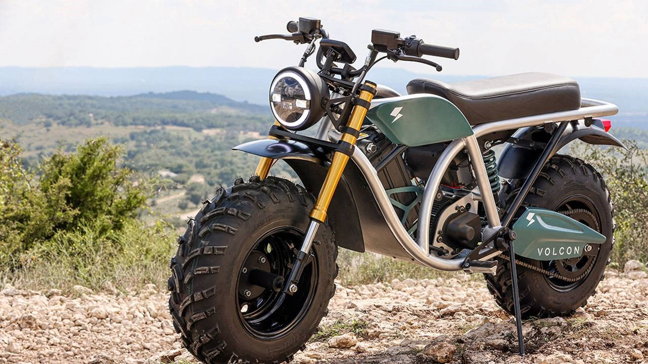 Volcon Grunt电动摩托车一次充电能够行驶一百英里