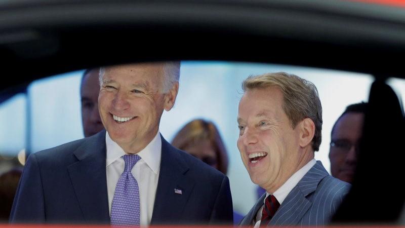 拜登赢得白宫,福特和通用汽车发表声明
