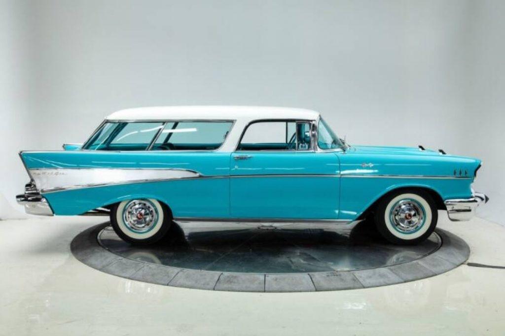 稀有1957年雪佛兰Nomad与燃油喷射出售
