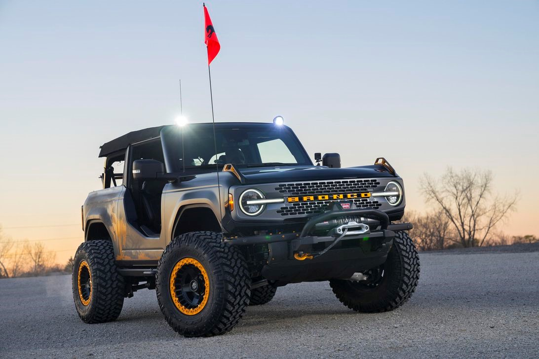 2021年福特Bronco Sasquatch概念车成为SEMA的一大亮点
