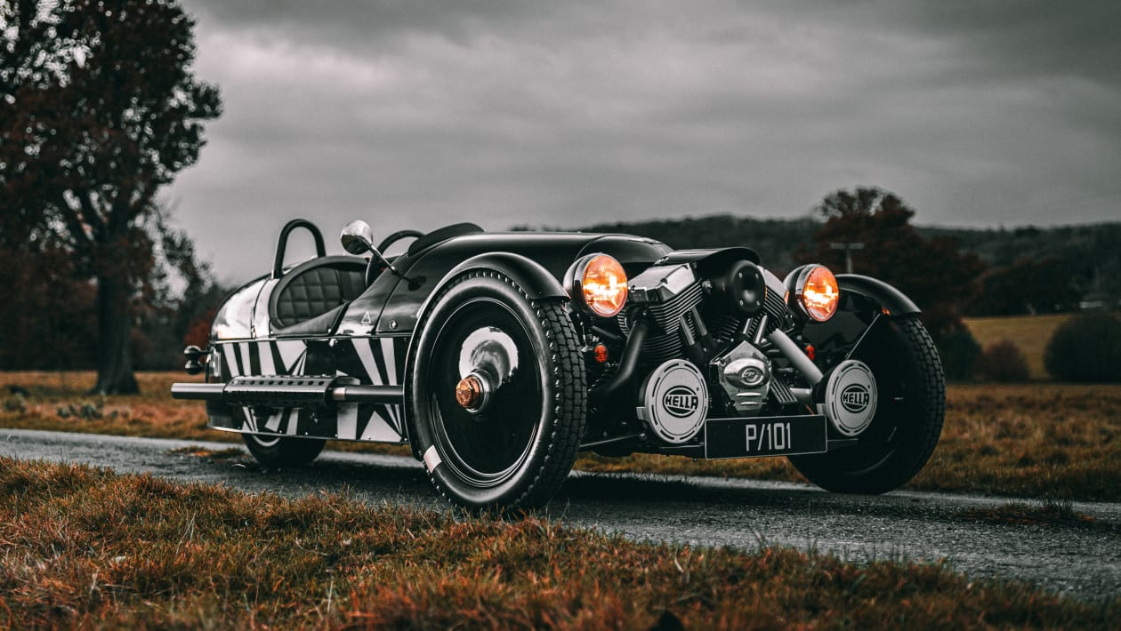 限量版Morgan 3-Wheeler标志着生产结束