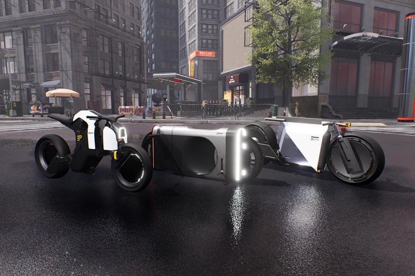 令人惊叹的北极星Precept在未来派电子游戏中出演