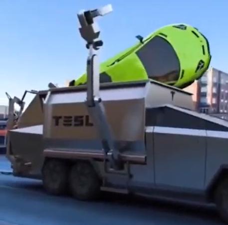 特斯拉Cybertruck作为终极垃圾车吗?