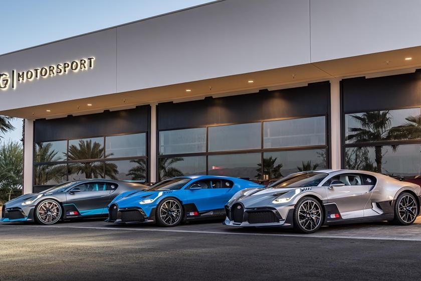布加迪迪沃(Bugatti Divo)首批交付在美国西海岸