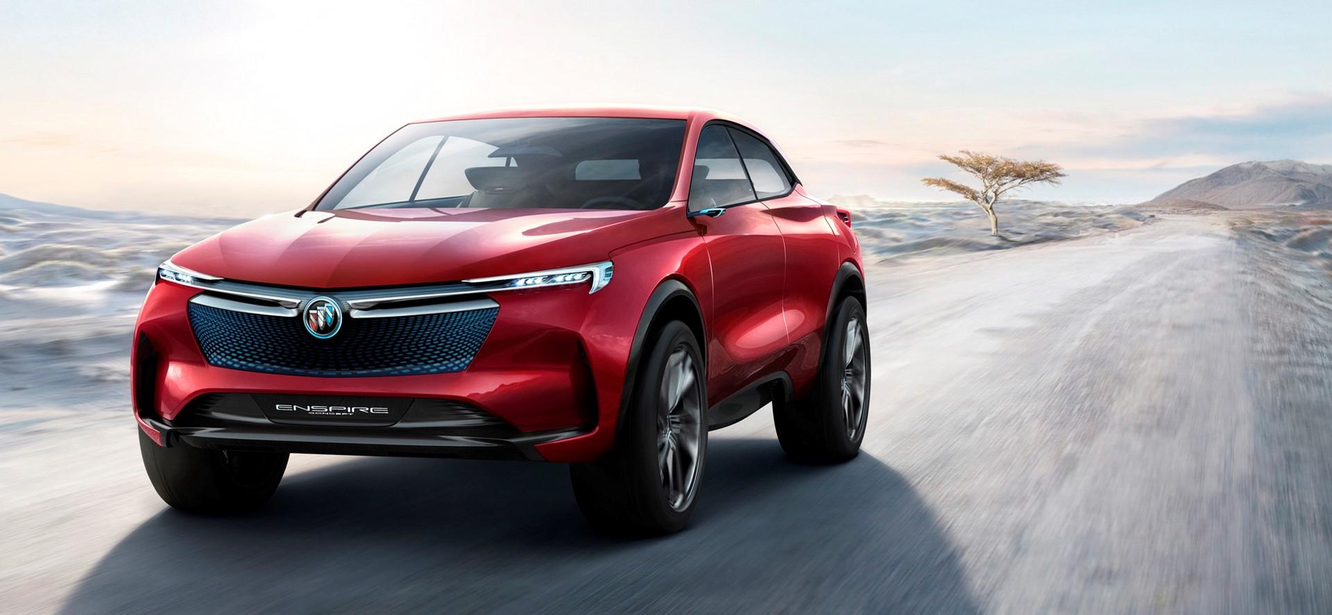 这是一辆别克,CES上的通用电动汽车不是克尔维特SUV