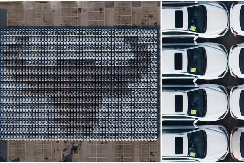 最大的汽车马赛克创造了新的吉尼斯世界纪录
